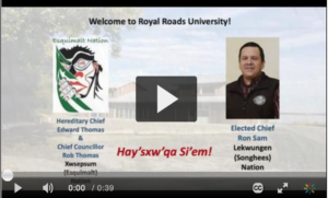 Image of Ron Sam's Welcome Video Thumbnail